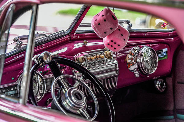 Wall Art - Photograph - Pink Dice by Paul Freidlund