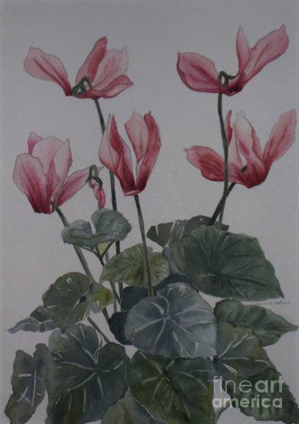Painting - Pink Flowers by Jeanie Watson