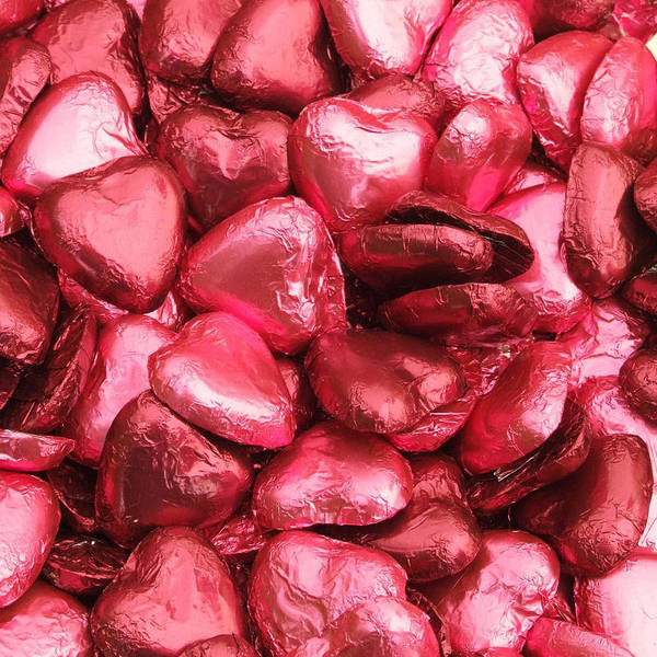 Photograph - Pink Heart Chocolates II by Helen Northcott