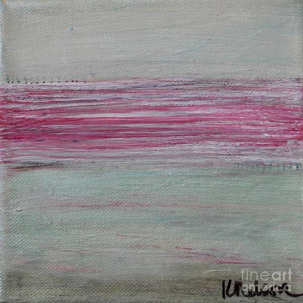 Painting - Pink Horizon by Kim Nelson