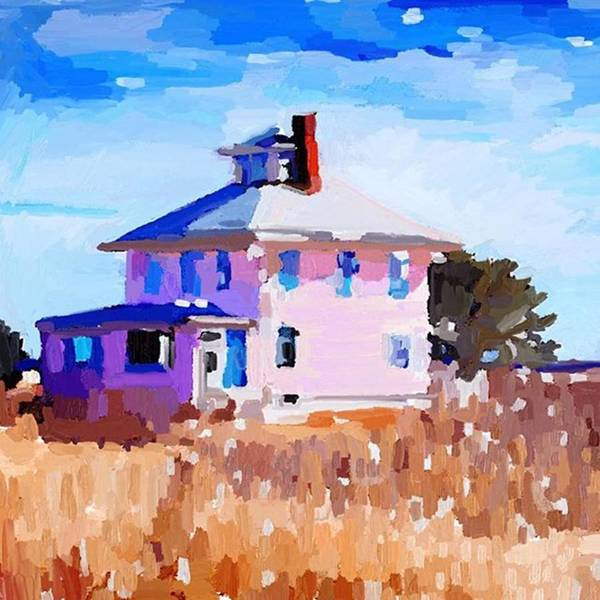 Photograph - Pink House For You And Me By Melissa by Melissa Abbott