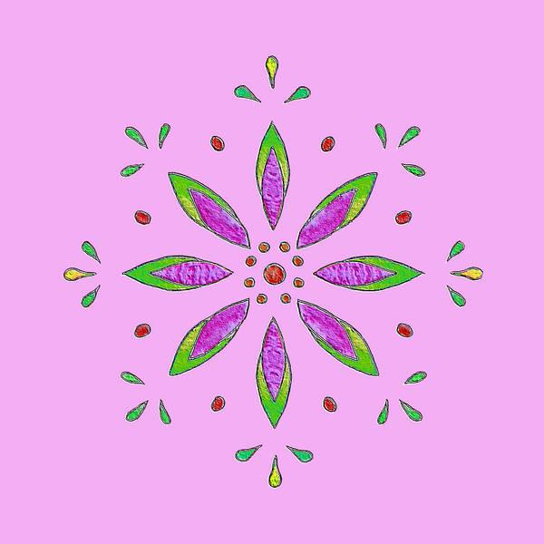 Mixed Media - Pink II by Elizabeth Lock