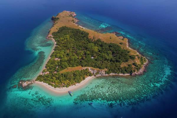 Photograph - Pink Island In Flores, Indonesia by Pradeep Raja PRINTS