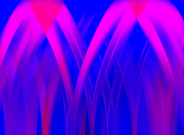 Digital Art - Pink Lacing by Carolyn Marshall