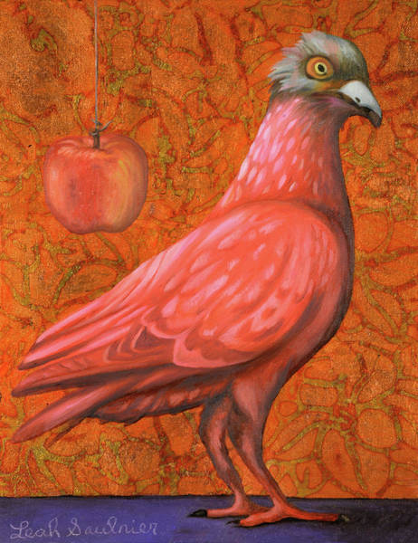 Painting - Pink Lady by Leah Saulnier The Painting Maniac