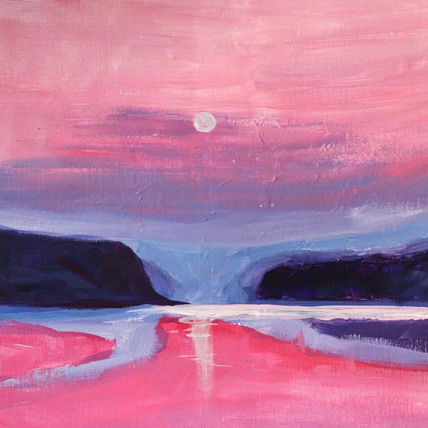 Wall Art - Painting - Pink Light by Nancy Merkle