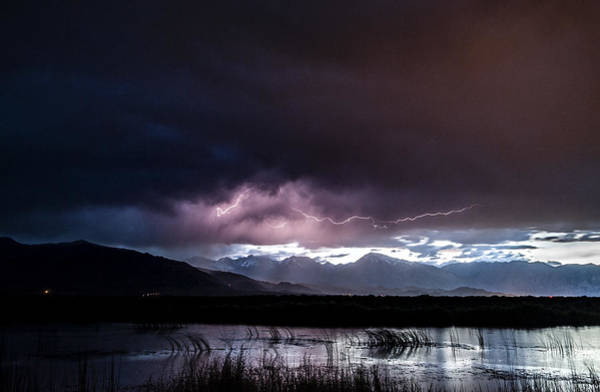 Photograph - Pink Lightning by Cat Connor