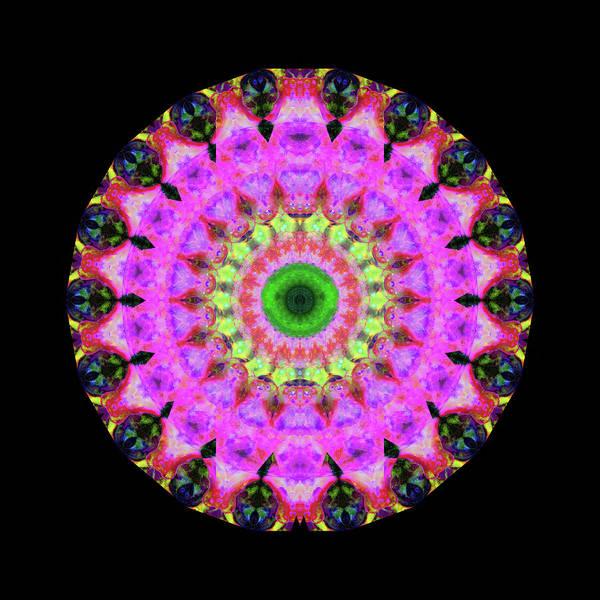 Painting - Pink Love Mandala Art By Sharon Cummings by Sharon Cummings