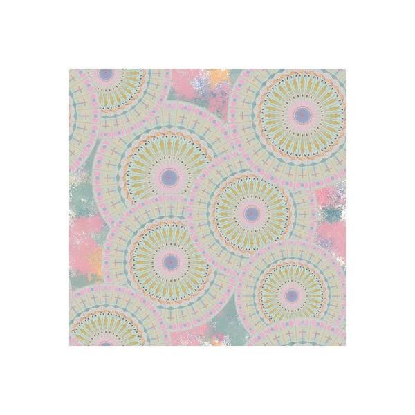 Digital Art - Pink Mandala Pattern by April Burton