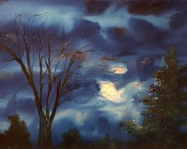 Painting - Pink Moon      19 by Cheryl Nancy Ann Gordon