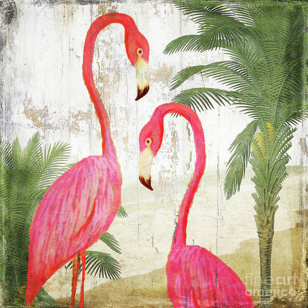 Wall Art - Painting - Pink Paradise by Mindy Sommers