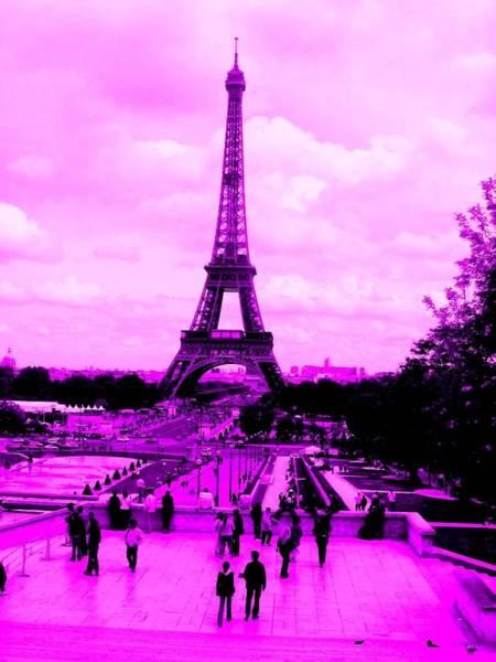 Photograph - Pink Paris by Michelle Dallocchio