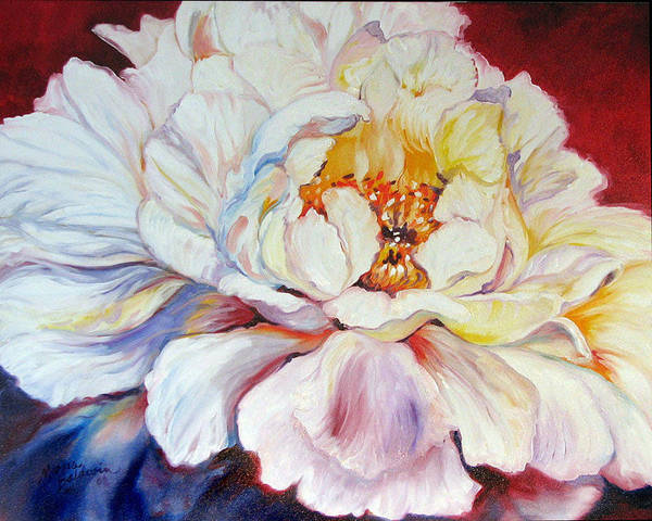 Painting - Pink Peony 30 by Marcia Baldwin