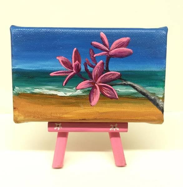 Painting - Pink Plumeria by Darice Machel McGuire