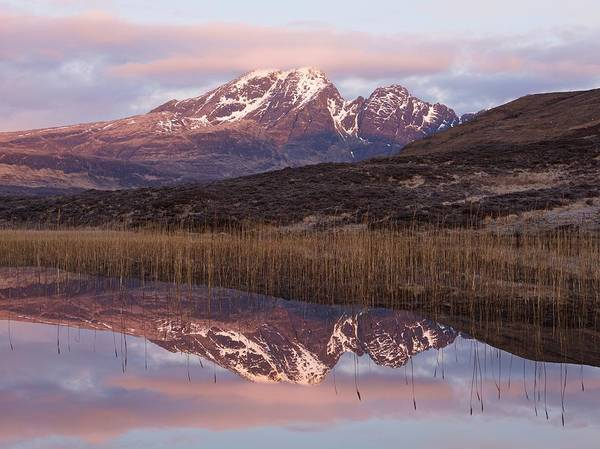 Photograph - Pink Skies At Blaven by Stephen Taylor