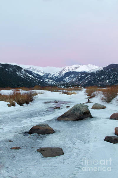 Wall Art - Photograph - Pink Skies Over Moraine Park In Rocky Mountain National Park, Es by Ronda Kimbrow