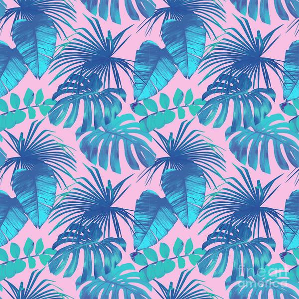 Wall Art - Digital Art - Pink Summer 2 by Mark Ashkenazi