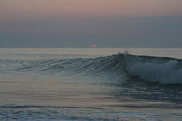 Photograph - Pink Sun Sunrise by Robert Banach