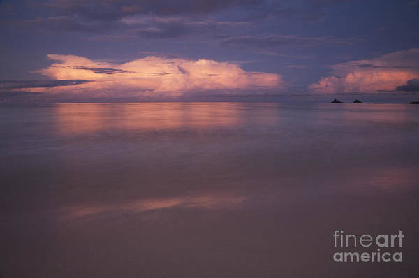 Photograph - Pink Sunset At Kalama Beach by Charmian Vistaunet