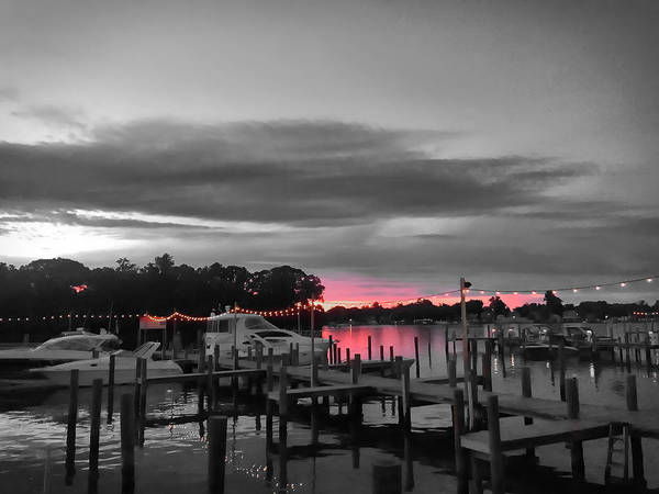 Photograph - Pink Sunset by Chris Montcalmo