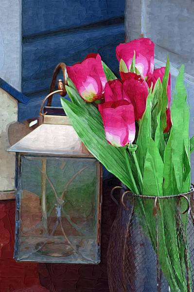 Photograph - Pink Tulips by Donna Bentley