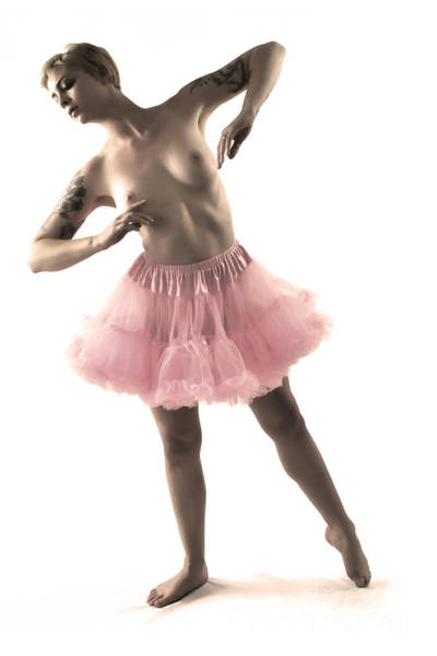 Photograph - Pink Tutu by Robert WK Clark