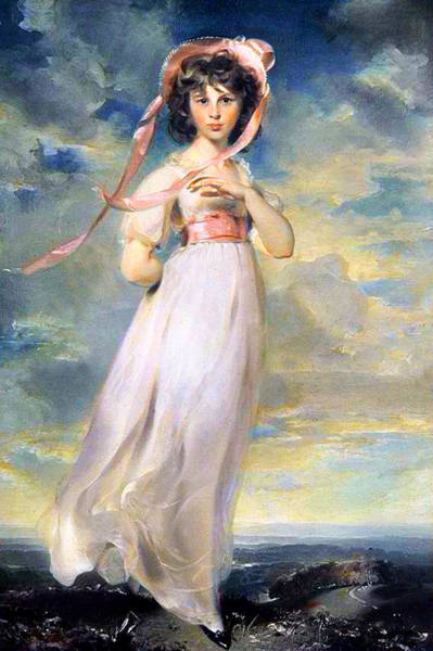 Wall Art - Painting - Pinkie by Thomas Lawrence