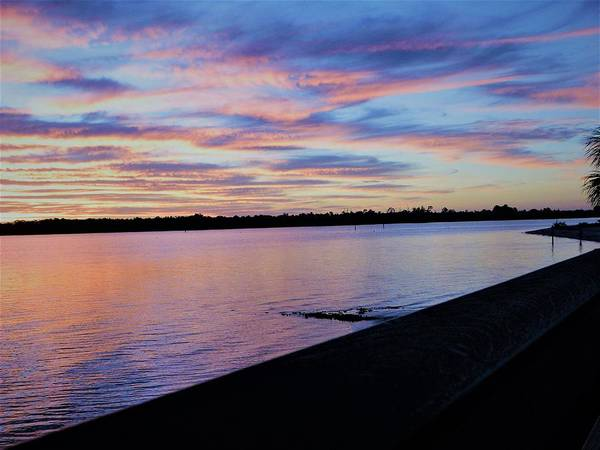 Sunset Wall Art - Photograph - Pinks And Blues by Ric Schafer