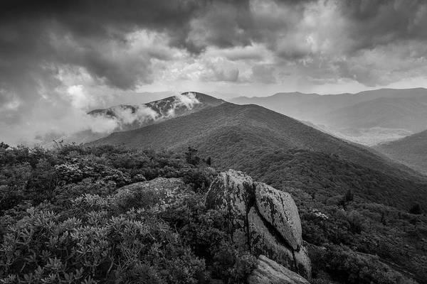 Photograph - Pinnacle-bw by Joye Ardyn Durham