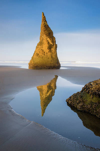 Photograph - Pinnacle Reflection - Vertical by Michael Blanchette