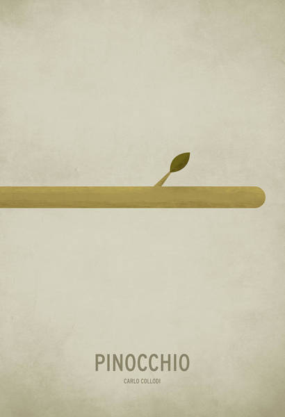 Birthday Digital Art - Pinocchio by Christian Jackson