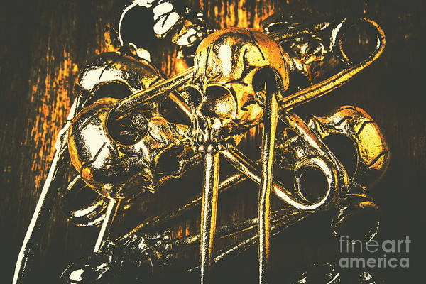 Biker Photograph - Pins Of Horror Fashion by Jorgo Photography - Wall Art Gallery