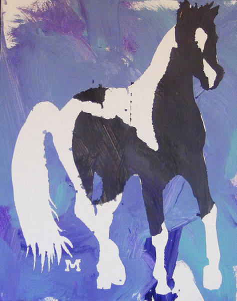 Painting - Pinto Pony by Candace Shrope