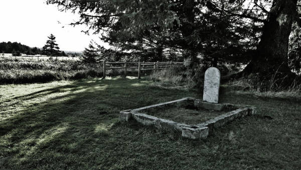 Photograph - Pioneer Cemetery by Pacific Northwest Imagery