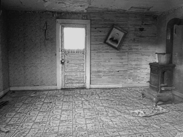 Ghosttown Photograph - Pioneer Home Interior - Nevada City Ghost Town Montana by Daniel Hagerman