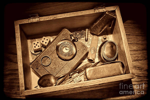 Photograph - Pioneer Keepsake Box by American West Legend By Olivier Le Queinec