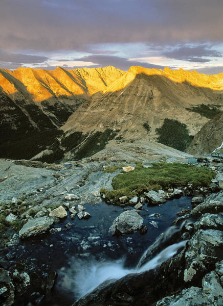 Pioneer Photograph - Pioneer Mountains by Leland D Howard