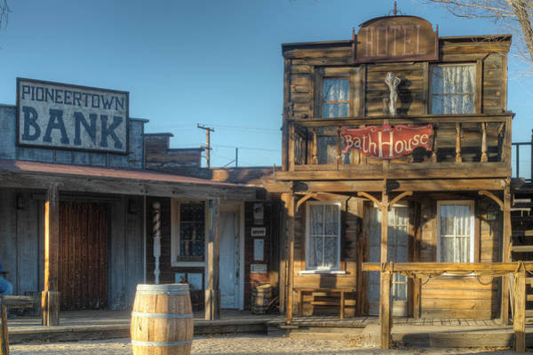 Photograph - Pioneer Town by Peter Dyke