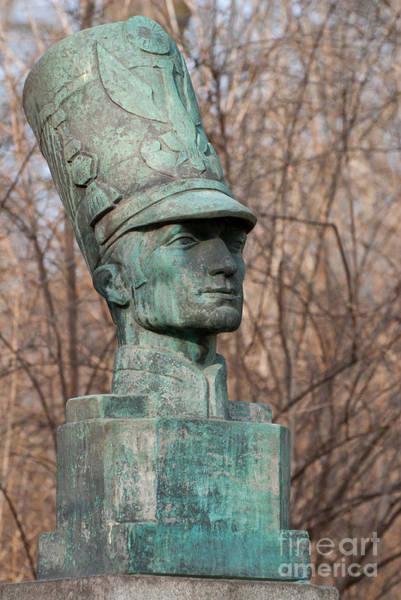 Wall Art - Photograph - Piotr Wysocki Bust Statue by Arletta Cwalina