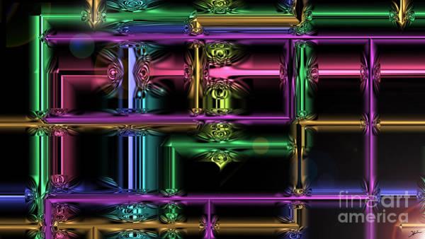 Made Digital Art - Pipe Dreams Made Of Glass by Heinz G Mielke