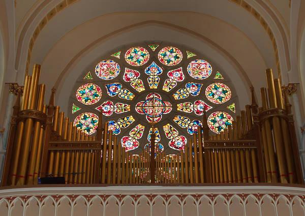 Photograph - Pipe Organ - Church by Kim Hojnacki
