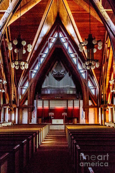 Photograph - Pipe Organ In Norton Chapel by William Norton