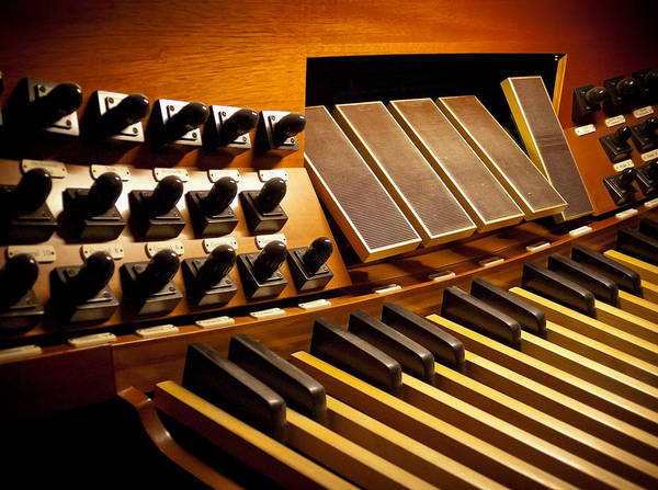 Photograph - Pipe Organ Pedals by Jenny Setchell