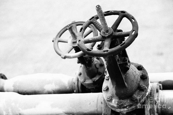 Faucet Photograph - Pipeline Valves by Gaspar Avila