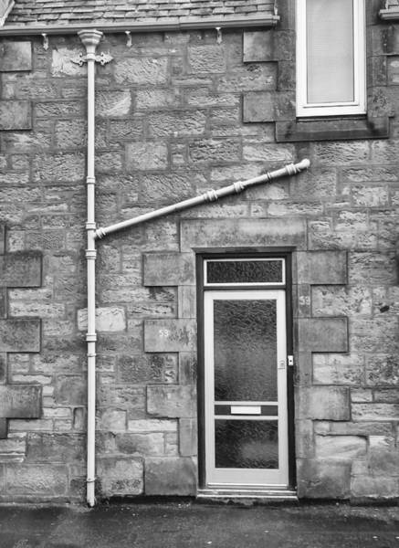 Photograph - Pipes And Doorway by Christi Kraft