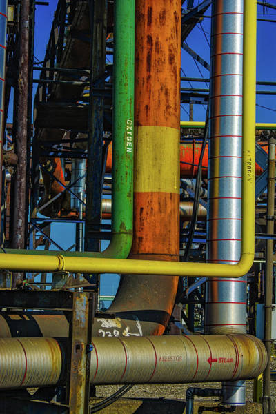Photograph - Pipes by Stewart Helberg