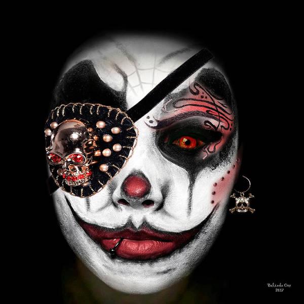 Digital Art - Pirate Clown by Artful Oasis
