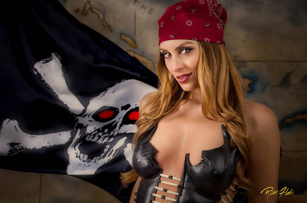 Photograph - Pirate Portrait by Rikk Flohr