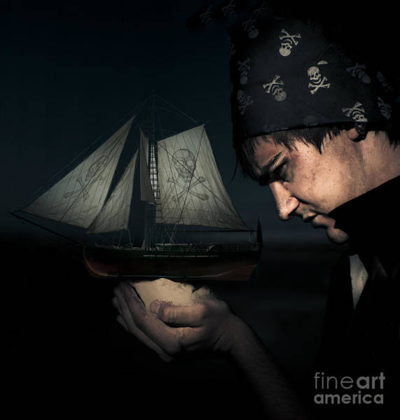 Rigging Photograph - Pirate by Jorgo Photography - Wall Art Gallery