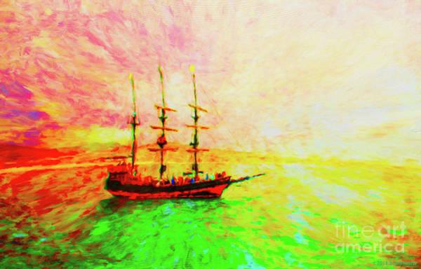 Wall Art - Photograph - Pirate Ship by Jerome Stumphauzer